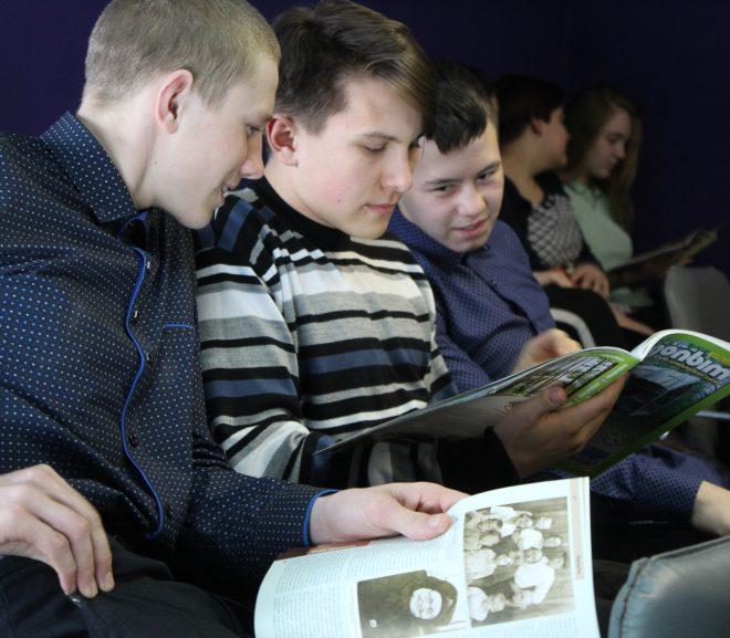 О подземных тайнах Челябинской области узнали ученики школы